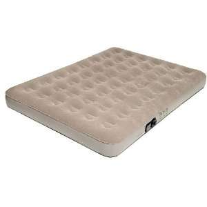 Pure Comfort Full Low Profile Suede Top Air Bed With Built