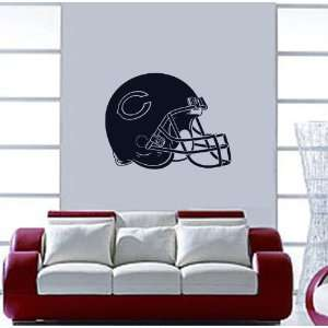 Chicago Bears NFL Wall / Auto Art Vinyl Decal Stickers / 28 X 21.2