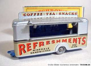 Matchbox RW No.74A Mobile Canteen rare mid blue base