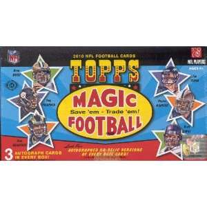 2010 Topps Magic NFL Football Trading Cards Box Sports