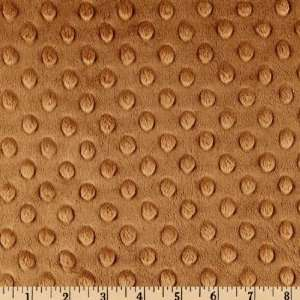 60 Wide Minky Dimple Dot Mocha Fabric By The Yard Arts