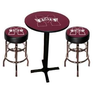 Mississippi State MSU Bulldogs Pool Hall/Bar/Pub Table   Black