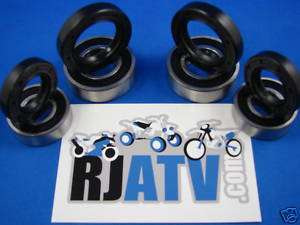 Suzuki Z400 Quadsport Front Wheel Bearings And Seals