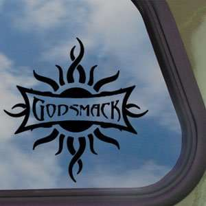 Godsmack Black Decal Rock Band Car Truck Window Sticker