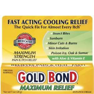 Gold Bond Maximum Strength Medicated Anti Itch Cream    1