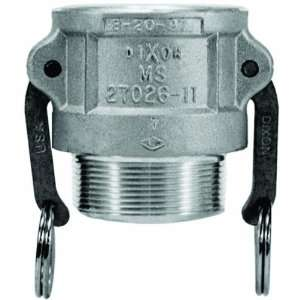 Dixon Valve 100 B BR Brass Type B Cam and Groove Fitting, Socket, 1