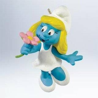 Clumsy Smurf Ornament   Great for Holiday Christmas Tree or Smurfs