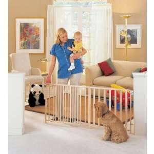 North States Extra Wide Swing Gate Baby