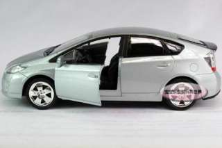 New 132 Toyota Prius Alloy Diecast Model Car With Sound&Light Silver