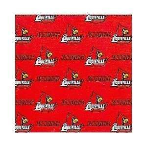 Louisville Cardinals Fabric Shower Curtain (72x72)