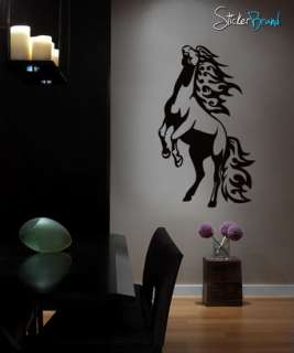 Vinyl Wall Art Decal Sticker Horse Standing Up #0013 Custom 45Tall X