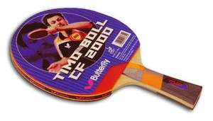 Boll CF 2000 FLared Carbon Racket with rubbers Table Tennis