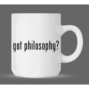 got philosophy?   Funny Humor Ceramic 11oz Coffee Mug Cup
