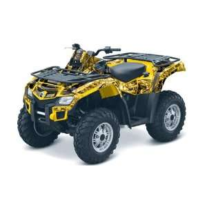 AMR Racing Can Am Outlander 800 EFI ATV Quad Graphic Kit   Mad Hatter