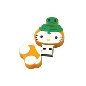 8GB Cat Shaped Cartoon USB Flash Drive Yellow Electronics