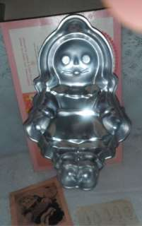 1971 Wilton Sugar Plum Rag Doll Character Cake Pan Plus