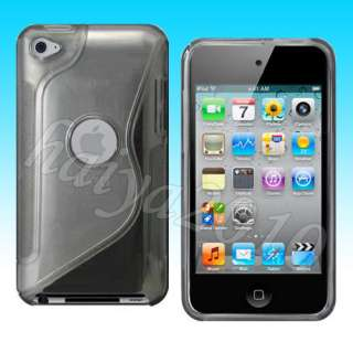 10 PCS TPU GEL HARD CASE FOR APPLE IPOD TOUCH 4 4G 4TH