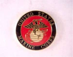 MARINE CORPS SEAL Pinback Hat Lapel Tie Tack Pin NEW