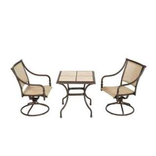 Hampton Bay Andrews Bistro Patio Set TO3F2U0Q0114