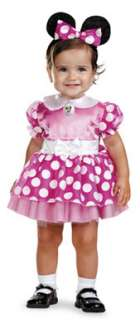 Disney Minnie Mouse Girls Infant 12 18 Months Costume