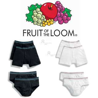 Fruit of the Loom Mens Rib Hip Briefs Boxers