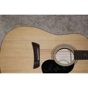 Taylor Swift Autographed Signed Acoustic Guitar Coa