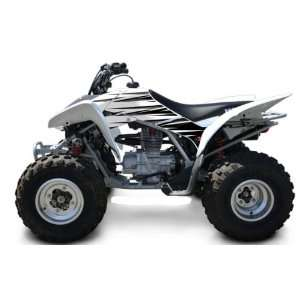 Honda TRX250EX Shift ATV Graphic Kit (White/Black) (2006