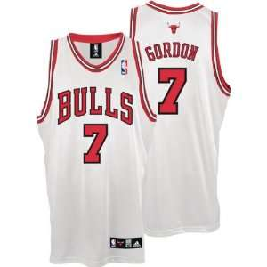 White adidas NBA Authentic Chicago Bulls Jersey