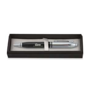Miami Dolphins Metal Monarch Pen in Black Gift Box, Team