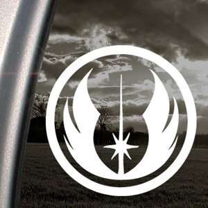 Jedi Decal Car Truck Bumper Window Vinyl Sticker Automotive