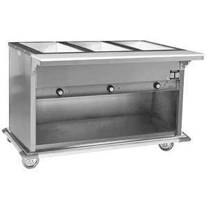 Electric Hot Food Table with Enclosed Base   3 Well