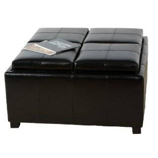 Safavieh Hudson Collection Gramercy Black Leather Double
