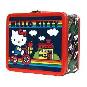 Hello Kitty Bike Rainbow Lunch Box SANLB0021