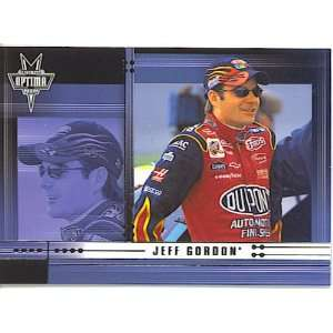 2002 Press Pass Optima 8 Jeff Gordon (NASCAR Racing Cards) [Misc