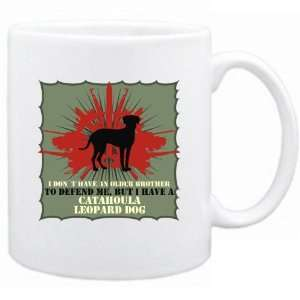 Brother , But I Haev A Catahoula Leopard Dog  Mug Dog