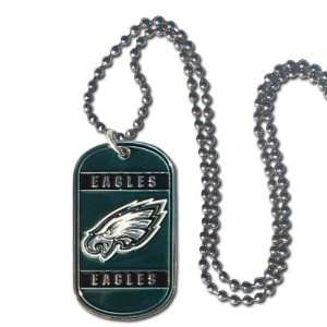 com Philadelphia Eagles Dog Neck Tag Necklace Officially Licensed NFL
