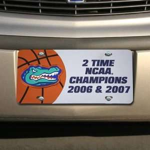 2007 NCAA Mens Basketball National Champions Two Time Silver License