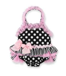 Mud Pie Baby Girls Polka Dot One Piece Bathing Suit (9 12 Months