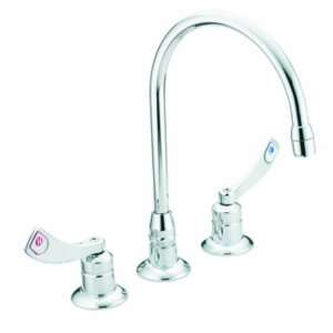 Dura Two Handle Lavatory Faucet with Spout, Chrome