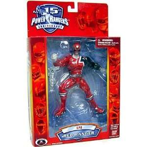 Power Rangers 15th Anniversary Action Figure SPD Red Ranger  Toys