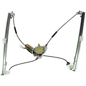 Front Power Window Regulator with Motor Driver Side
