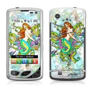 Mystic Mermaid Design Protective Skin Decal Sticker for LG