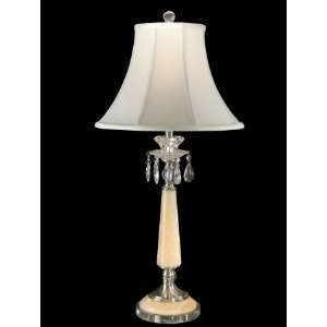 Dale Tiffany Clarissa 1 Light Table Lamp GT80020