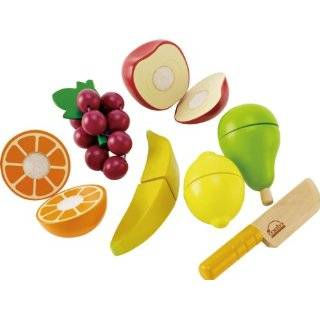 Melissa & Doug Wooden Cutting Food Value Pack Play Food