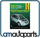 06 Chrysler Voyager Town & Country Dodge Caravan Haynes Repair Manual