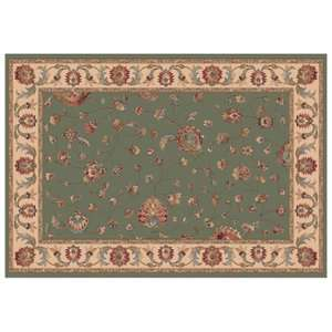 Dynamic Rugs Radiance Collection 47 x 24 Hearth Rug Olive Ryian Decor
