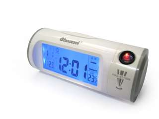 Sound Voice Control Projection Alarm Clock And Calendar