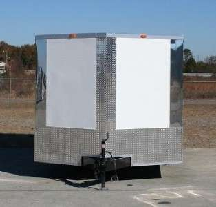 NEW 8.5x24 ENCLOSED CARGO TRAILER CAR HAULER V NOSE