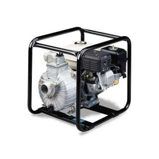 Tsurumi 2, 4 HP Honda Engine Driven Centrifugal Pump with Low Oil