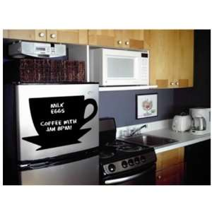 Art Instant Chalkboard Coffee Cup Large Wall Decor